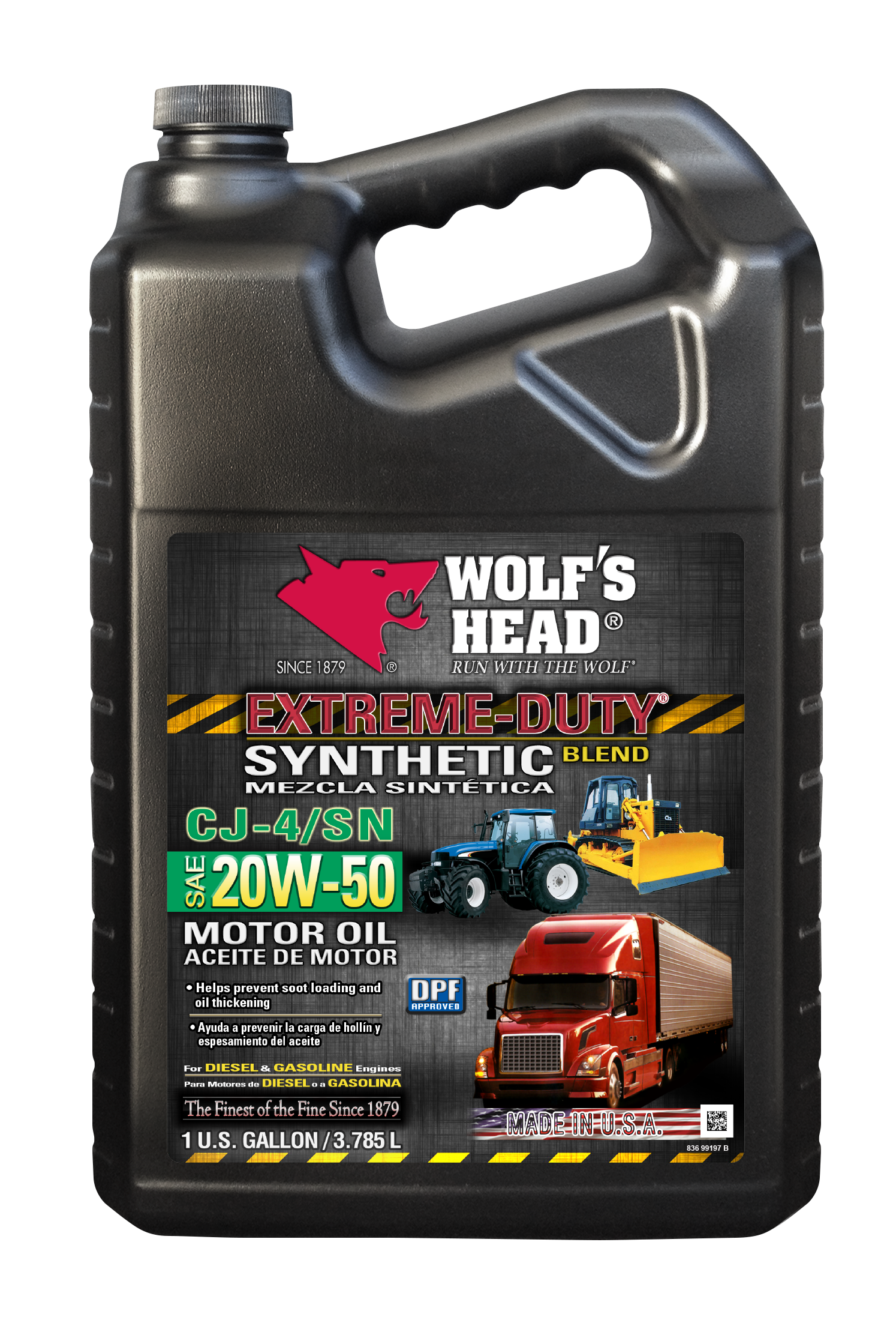 Extreme Duty Synthetic Blend 20w 50 Ga